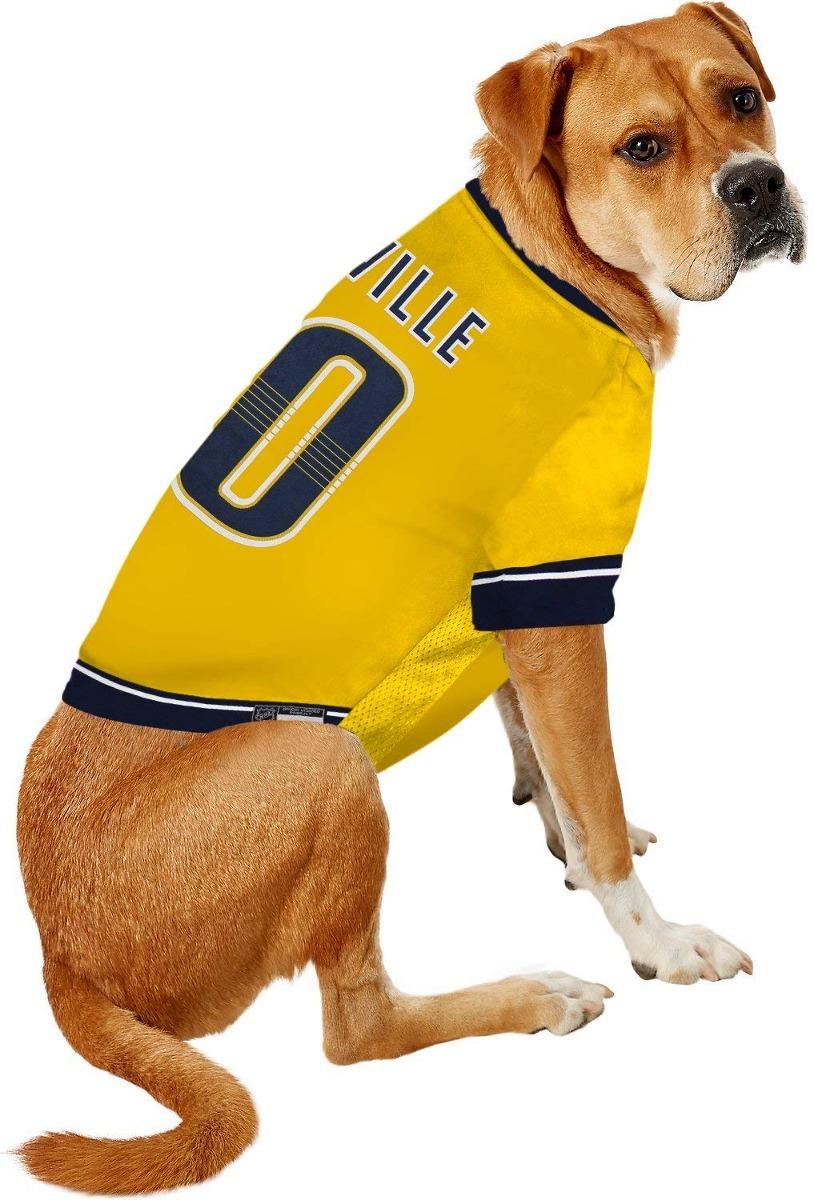 promo code 38576 26972 Nhl Nashville Predators Jersey For Dogs & Cats, Large. - Let