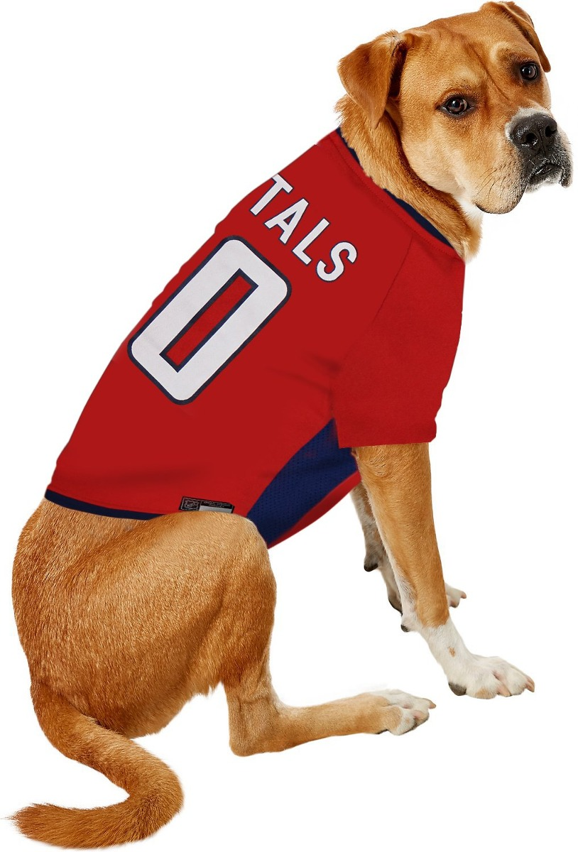 cheap for discount 64425 5abfe Nhl Washington Capitals Jersey For Dogs & Cats, X-small. - L