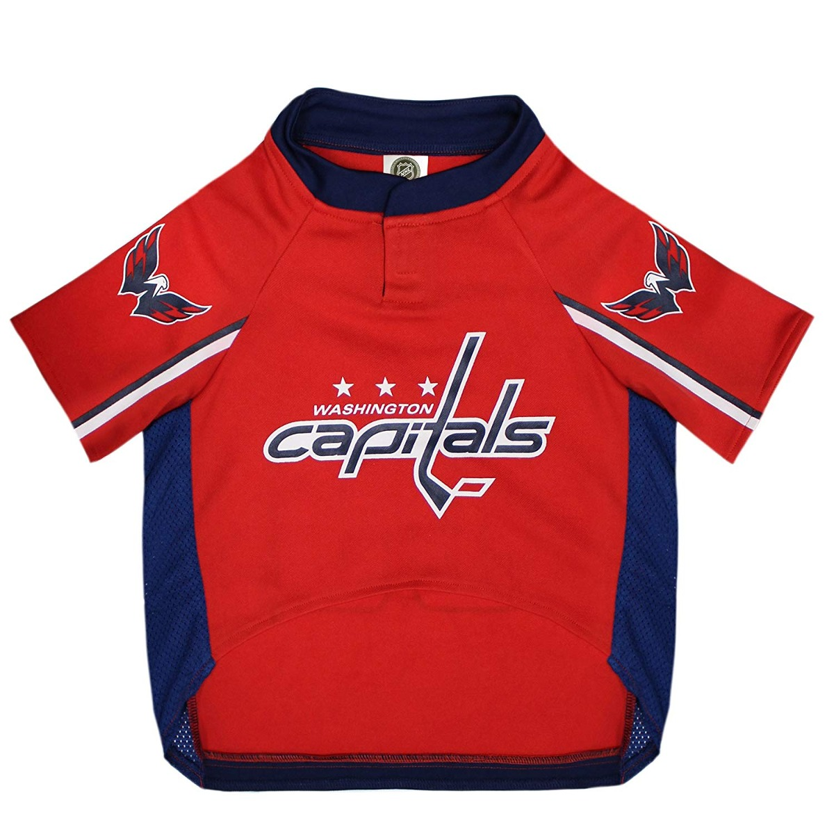 cheap for discount 444b8 3c1f4 Nhl Washington Capitals Jersey For Dogs & Cats, X-small. - L