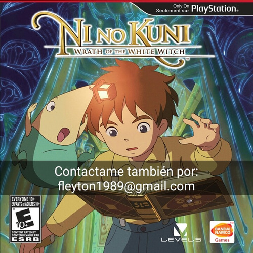 ni no kuni wrath of the white witch juego ps3 digital paypal