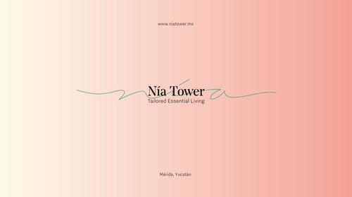 nía tower, departamentos de 2 recámaras.