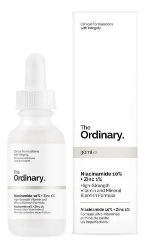 niacinamida 10% + zinc 1% | the ordinary