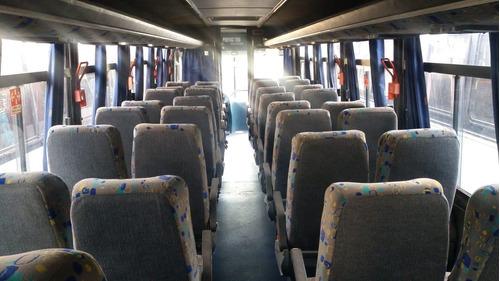 ônibus apache vip rodoviario 2005, traseiro.