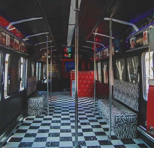 ônibus balada