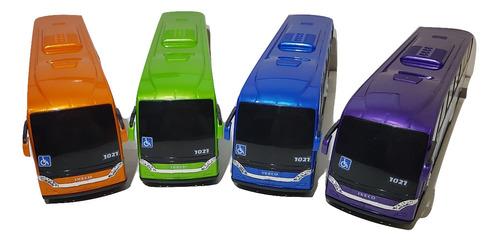ônibus brinquedo miniatura