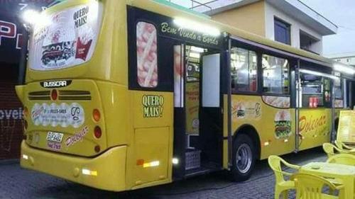 ônibus busscar food truck - pronto para uso, completo, novo