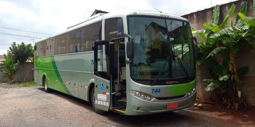 ônibus comil 3.45 volks 18320 traseiro único dono luxo novo