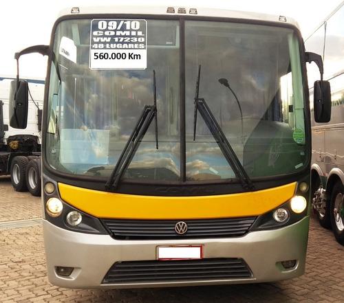 ônibus comil - vw 17-230 / 48 lugares