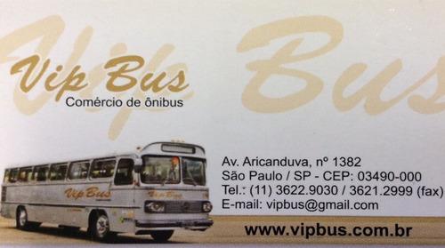 ônibus escolar curto of1418 2007/2008 financia 100% vipbus