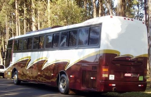 ônibus executivo- semi leito - super conservação - completo