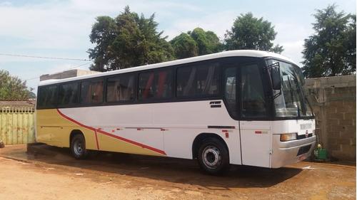 ônibus gv 850, motor dianteiro mbb 1318. 1997
