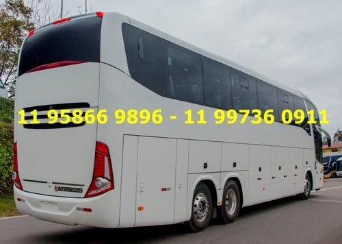 ônibus ld g7 1600 marcopolo scania k400 2018 completíssimo.