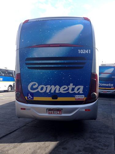 ônibus marcopolo 1050 ano 2011, mb o500rs, 46l, ar, 220 mil