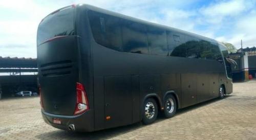 ônibus marcopolo 1600 ld g7 volvo b 12r 6x2 - 420 ano 11/12
