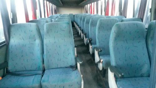 ônibus marcopolo andare  2000, mbb 1721 dianteiro, rodoviari