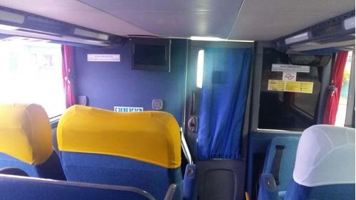 ônibus  marcopolo d d  leito completo  motor novo