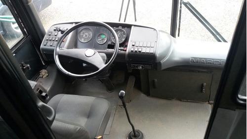 ônibus marcopolo gv1000, 1996, mbb 0400