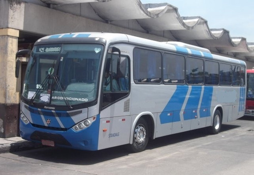 ônibus marcopolo ideale 770  de fretametnos  ar condicionado