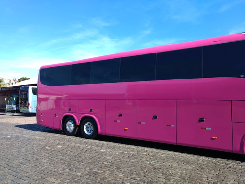 ônibus marcopolo ld, 2015, volvo b12r, 44 lug, r$ 650 mil