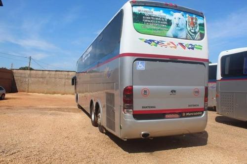 ônibus marcopolo ld g6 scania k 380 leito seminovo completo