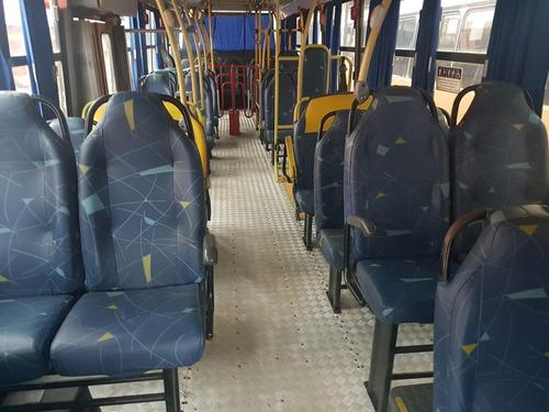 ônibus marcopolo midi 2006, mb of 1418, 39l, ar con, 79 mil