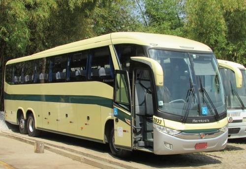 ônibus marcopolo paradiso 1200 g7  único dono 50 poltronas