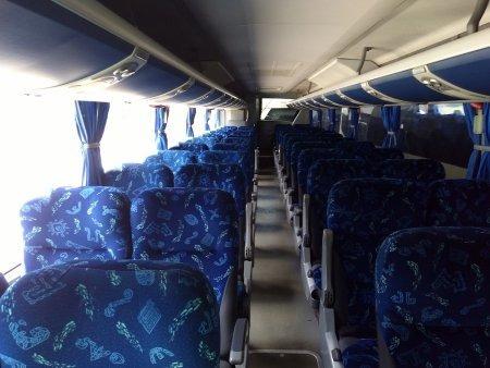 ônibus marcopolo1050 ano 2011, volvob9r, 46l, ar,wc, 195 mil