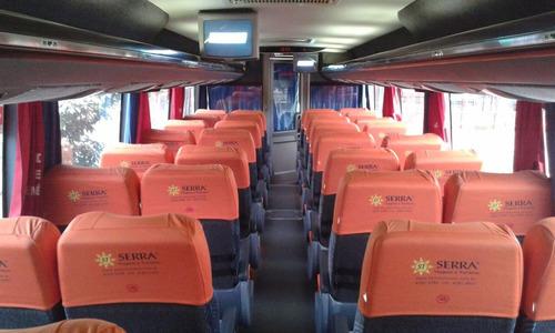 ônibus mb o500 rs ano 2008 busscar elegance 46 lug.completo