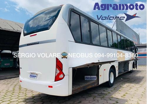 ônibus mercedes benz/ neobus road r cor branca ano 2015/201