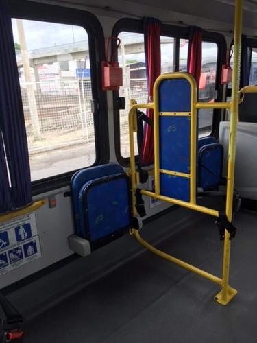 ônibus micrão seminovo - acessibilidade completa com tv dvd