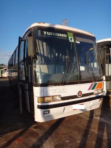 ônibus mpolo gv 1000- 1995 -  sem motor - ar - wc - 48 lug