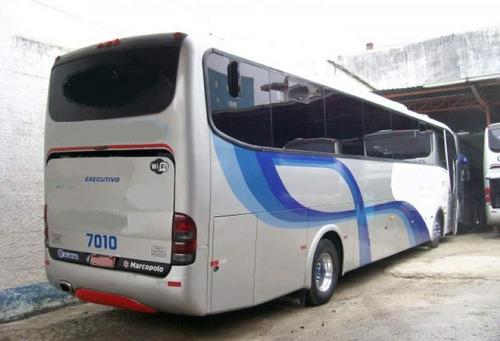 ônibus paradiso 1200 g6 - completo com 50 poltronas -impecáv