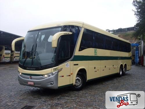 ônibus paradiso 1200 g7 mercedes rsd completo   50 poltronas