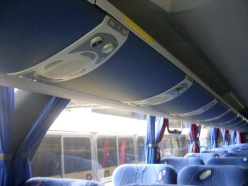 ônibus paradiso 1200g7 mercedes 0500 rsd único dono seminovo