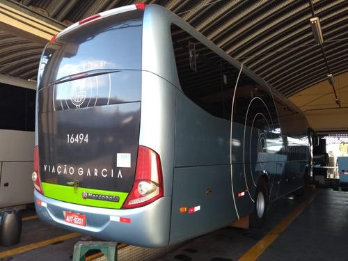 ônibus rod marcopolo1050, ano 2012 mb of1722, 44l r$ 240 mil