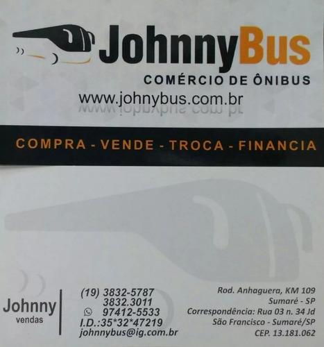 ônibus rodov. trucado busscar vissta buss ano 2001 johnnybus