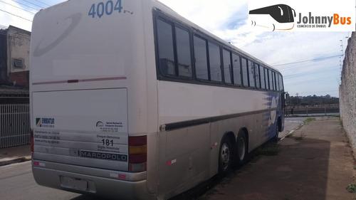 ônibus rodov. trucado paradiso g5 1150 ano 1996 johnnybus