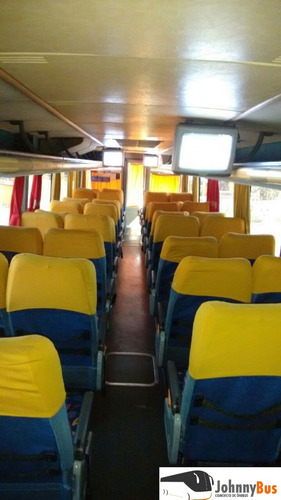 ônibus rodov. trucado paradiso g6 1200 ano 2001 johnnybus
