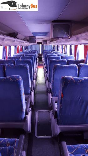 ônibus rodov. trucado paradiso g6 1550ld ano 2006 johnnybus