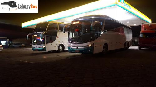 ônibus rodov. trucado paradiso g7 1200 ano 2009/09 johnnybus