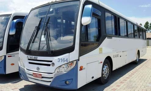 ônibus rodoviario 2010, mascarelo roma, vw17230, 48l, 90 mil