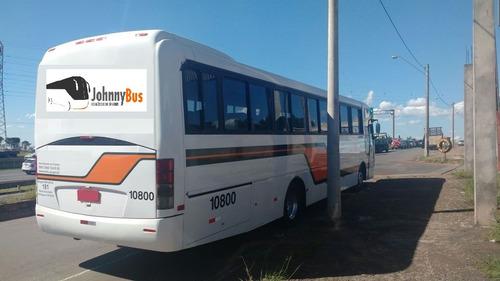 ônibus rodoviário busscar el buss 320 ano 2007 johnnybus