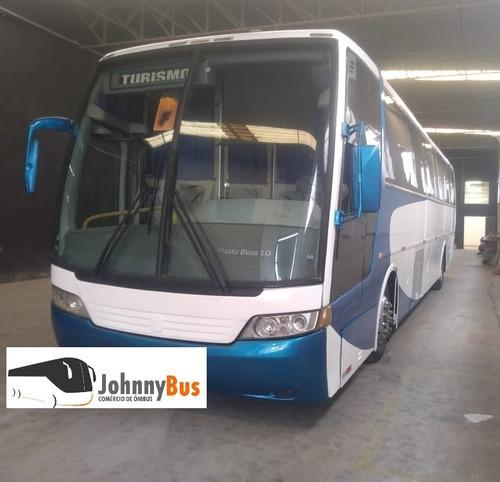 ônibus rodoviário busscar vissta buss ano 2001 - johnnybus