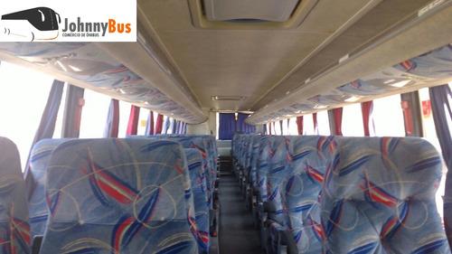 ônibus rodoviário busscar vissta buss ano 2005 johnnybus