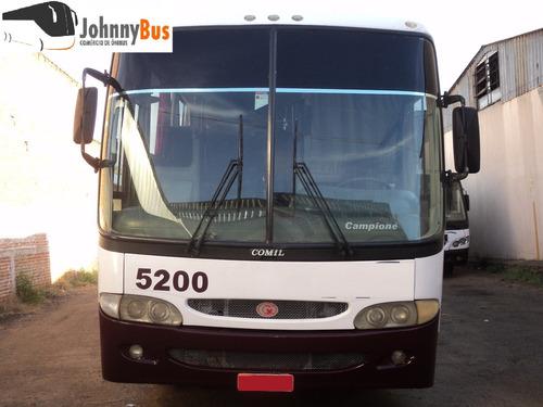 ônibus rodoviário comil campione - 1998 - johnnybus
