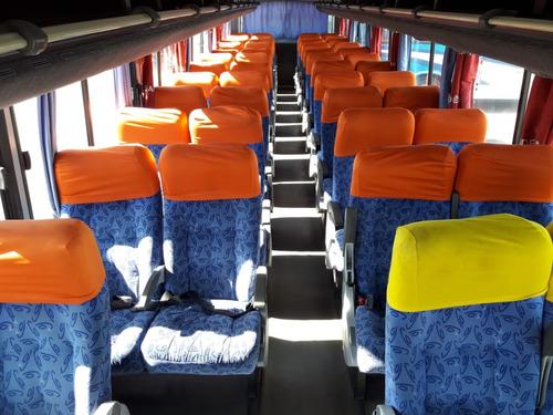 ônibus rodoviario comil versatile mercedes of1722 48 lugares