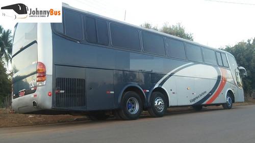 ônibus rodoviário marcopolo g6 1350 - ano 2001 - johnnybus
