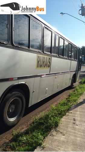 ônibus rodoviário marcopolo gv1000 - ano 1998 - johnnybus
