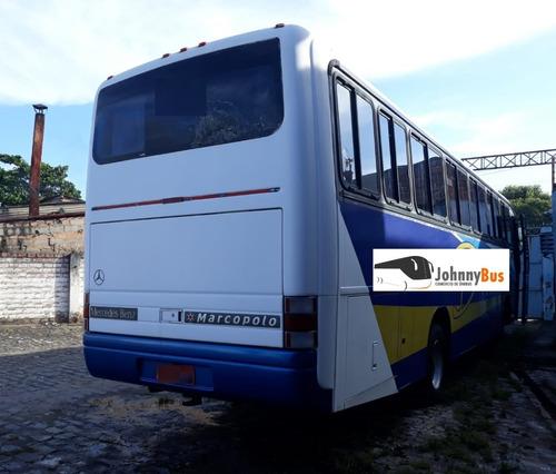 ônibus rodoviário marcopolo gv1000 - ano 1999/99 - johnnybus