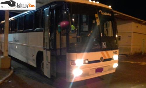 ônibus rodoviário marcopolo gv1000 - ano 2000 - johnnybus